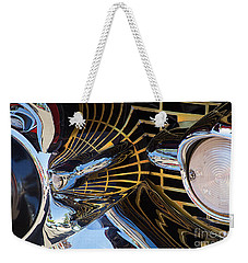 1957 Chevy Bel Air Grill Abstract 1 Weekender Tote Bag