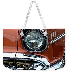 1957 Chevy Weekender Tote Bag by Bill Owen