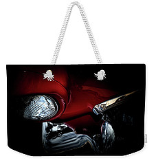 Weekender Tote Bag featuring the photograph 1957 Ford Thunderbird, No.6 by Eric Christopher Jackson