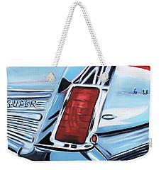 1958 Buick Super Weekender Tote Bag