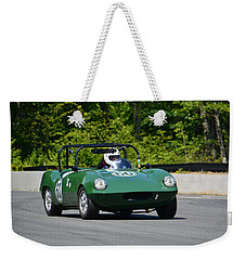 1958 Elva Courier Weekender Tote Bag by Mike Martin