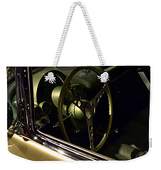 1958 Fancy Free Corvette J58s Interior Weekender Tote Bag