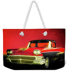 1958 Ford Ranchero 1st Generation Weekender Tote Bag