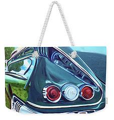 1958 Reflections Weekender Tote Bag