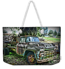 Weekender Tote Bag featuring the photograph 1959 Chevrolet Viking 60 by Paul Ward