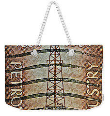 1959 First Oil Well Stamp Weekender Tote Bag