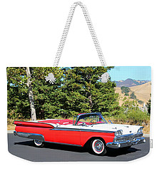 1959 Ford Fairlane 500 Weekender Tote Bag