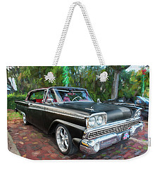 1959 Ford Galaxy C113 Weekender Tote Bag