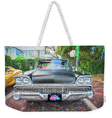 1959 Ford Galaxy C115 Weekender Tote Bag