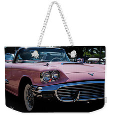 1959 Ford Thunderbird Convertible Weekender Tote Bag by Joann Copeland-Paul