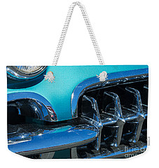 1960 Chevy Corvette Headlight And Grill Abstract Weekender Tote Bag