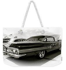 1960 Chevy Impala Weekender Tote Bag