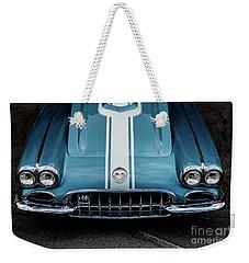 1960 Corvette Weekender Tote Bag