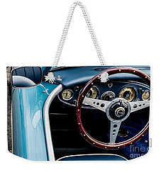 Weekender Tote Bag featuring the photograph 1961 Austin Healey 3000 by M G Whittingham