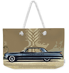 1961 Cadillac Fleetwood Sixty-special Weekender Tote Bag