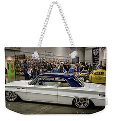 Weekender Tote Bag featuring the photograph 1962 Buick Skylark by Randy Scherkenbach