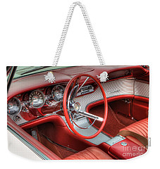1962 Thunderbird Dash Weekender Tote Bag by Jerry Fornarotto