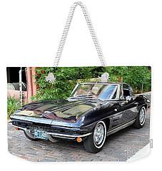 1963 Corvette Split Window Coupe Weekender Tote Bag