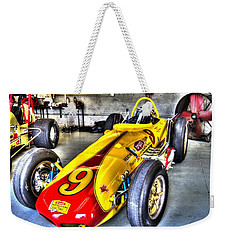 1963 Eddie Sachs Indy Car Weekender Tote Bag