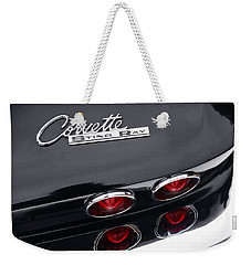 Weekender Tote Bag featuring the photograph 1964 Chevrolet Corvette Sting Ray  by Gordon Dean II