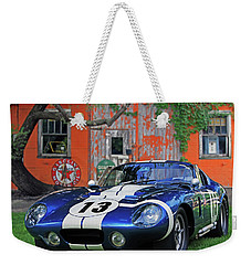 Weekender Tote Bag featuring the photograph 1964 Cobra Daytona Coupe by Christopher McKenzie