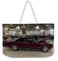 Weekender Tote Bag featuring the photograph 1964 Pontiac Gto by Randy Scherkenbach