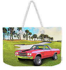 1970 Chevy El Camino 4x4 Not 2nd Generation 1964-1967 Weekender Tote Bag