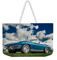 1966 Corvette Stingray  Weekender Tote Bag