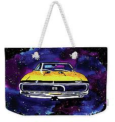 1967 Chevy Camaro Ss Weekender Tote Bag