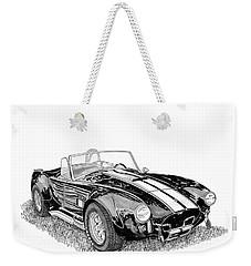 Weekender Tote Bag featuring the painting 1967 Cobra Sc by Jack Pumphrey