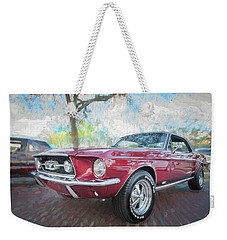 1967 Ford Mustang Coupe C117 Weekender Tote Bag