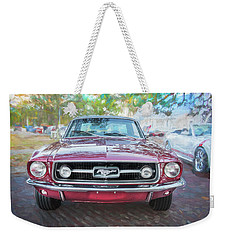 1967 Ford Mustang Coupe C118  Weekender Tote Bag