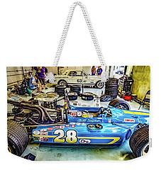 1967 Gilbert Cheetah Weekender Tote Bag