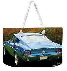 1967 Mustang Weekender Tote Bag