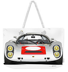 1967 Porsche 910 Illustration Weekender Tote Bag