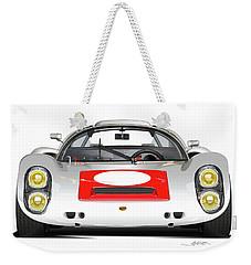 1967 Porsche 910 Illustration Weekender Tote Bag