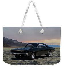 1968 Dodge Charger Rt 440 Weekender Tote Bag