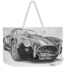 1968 Shelby Cobra Weekender Tote Bag