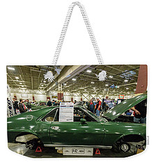 Weekender Tote Bag featuring the photograph 1969 Amc Amx by Randy Scherkenbach