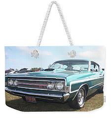 1969 Ford Gran Torino Weekender Tote Bag