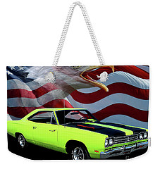 1969 Plymouth Road Runner Tribute Weekender Tote Bag