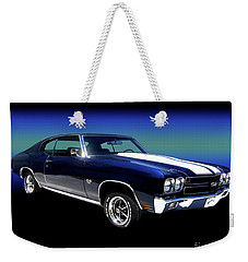 1970 Chevelle Ss Weekender Tote Bag