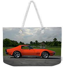 1970 Corvette Stingray Weekender Tote Bag