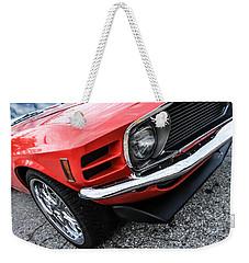 1970 Ford Mustang Weekender Tote Bag
