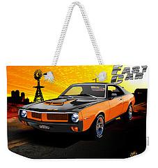 1970 Javelin Weekender Tote Bag