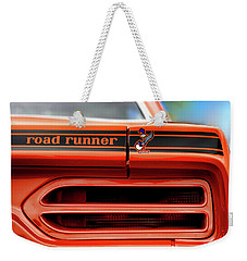 1970 Plymouth Road Runner - Vitamin C Orange Weekender Tote Bag