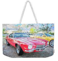 1971 Chevrolet Camaro C126 Weekender Tote Bag