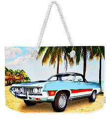 1971 Ford Ranchero At Three Palms - 5th Generation Of Ranchero Weekender Tote Bag