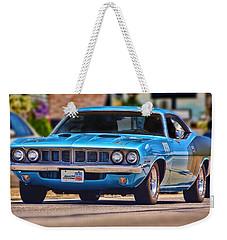 1971 Plymouth 'cuda 383 Weekender Tote Bag