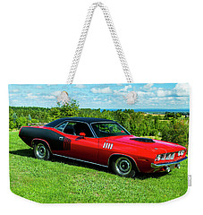 1971 Plymouth Weekender Tote Bag by Performance Image